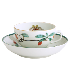 -TEA CUP & SAUCER, SHAPE #2