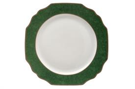 ",_GREEN SERVICE PLATE. 12"" DIAMETER. MSRP $250.00"