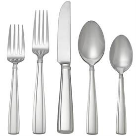 -65 PIECE SET. INCLUDES 12 FIVE PIECE PLACE SETTINGS & 5 SERVERS.