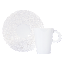 -SET OF 2 COFFEE CUPS & SAUCERS
