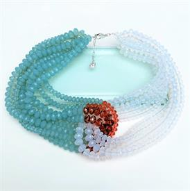 """_,'GLAMOUR COLLAR' NECKLACE, LARGE. 16.5"""" LONG"""