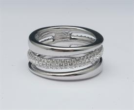 -,5210668 EXACT RING CRYSTAL/RHS 15
