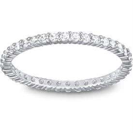 -5007780 VITTORE CLEAR STONES SET IN RHODIUM.