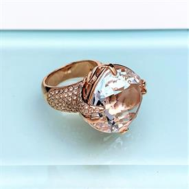 _,'MATADOR' RING IN ROSE GOLD. SIZE 52/US 6.