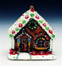 -1142142 JEWELED GINGERBREAD HOUSE BOX