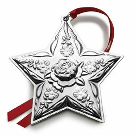 ,2014 6th Ed. Star REPOUSSE Ornament Sterling Silver