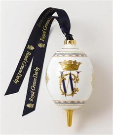 "_ROYAL WEDDING ORNAMENT. 5""TALL. ORG PRICE $150"