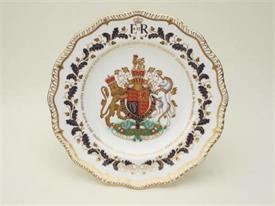 "_DIAMOND JUBILEE PLATE. 9"". ORG PRICE $264"