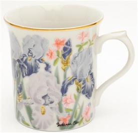 IRIS BY SUZANNE CLEE FROM THE FLOWER BLOSSOM MUG COLLECTION.