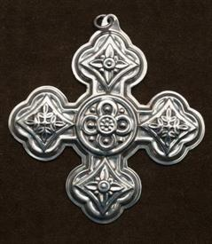 1971 CHRISTMAS CROSS STERLING NO BOX REED BARTON SILVER