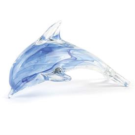 "-:BLUE GLOW DOLPHIN. 5"" LONG"