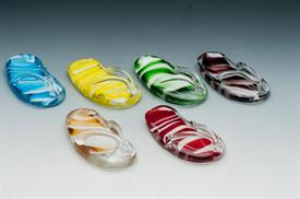 _GLASS FLIP FLOP ASSORORTED COLORS. IF YOU WOULD LIKE TO REQUEST A SPECIFIC COLOR, PLEASE DO SO IN THE NOTES SECTION WHEN YOU CHECK OUT.