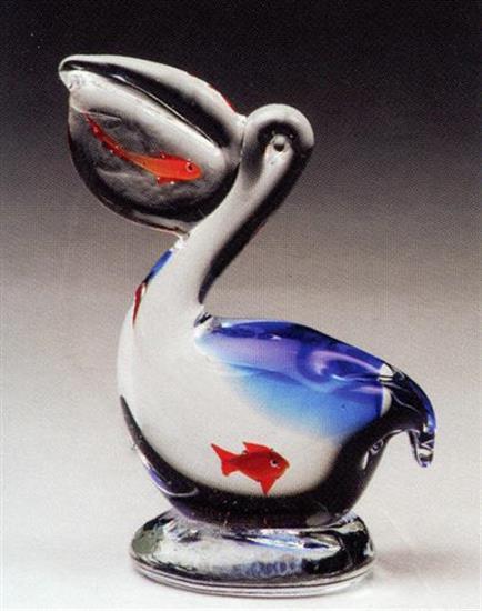 DYNASTY GALLERY SMALL PELICAN W/FISH