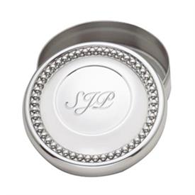 -PEWTER KEEPSAKE BOX