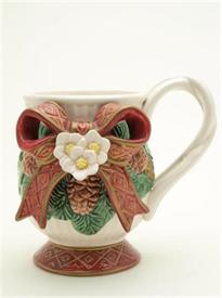 PINECONE W/BOW MUG