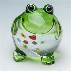 "_MINI FROG 2"" GLASS GREEN/CLEAR"