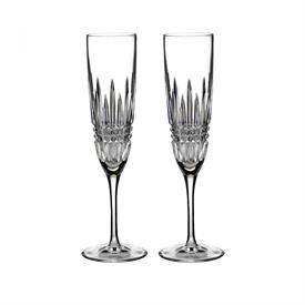 ,-SET OF 2 CHAMPAGNE FLUTES