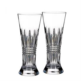 -SET OF 2 PILSNER GLASSES