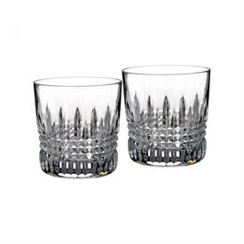 -,SET OF 2 DOUBLE OLD FASHIONED GLASSES, 9 OUNCE