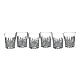 _,SET OF 6 DOUBLE OLD FASHIONED GLASSES