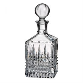 ,-SQUARE DECANTER, 26 OUNCE