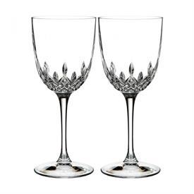 -SET OF 2 WHITE WINE GLASSES