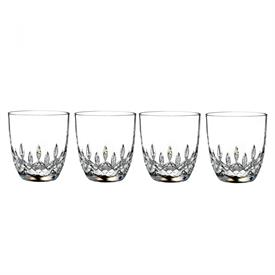 -SET OF 4 10 OUNCE TUMBLERS. 3.7""