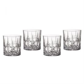 -SET OF 4 DOUBLE OLD FASHIONED GLASSES