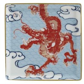 "-4.3"" RED DRAGON TRAY"