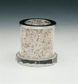 _GLITTER GOLD DIAMOND VOTIVE HOLDER. MSRP $35.00