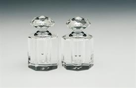 -CLEAR HEART PERFUME BOTTLE SET. MSRP $25.00