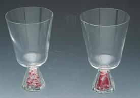 _,S/2 GLITTER BASE WINE CLEAR AND RUBY WAS $55.00.