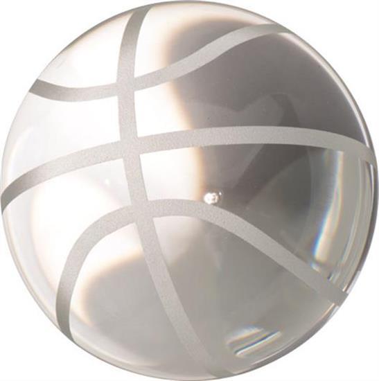"OLEG CASSINI ,BASKETBALL PAPERWEIGHt. 3"" X 3.5"""
