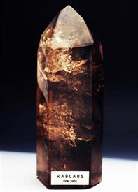 -SMOKY QUARTZ OBELISK