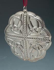 ,_13TH EDITION CELTIC STERLING SILVER ORNAMENT BY TOWLE