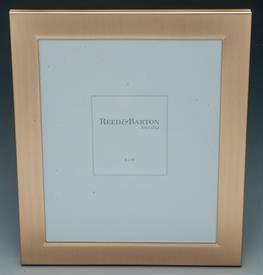 -,1480GA CLASSIC 8X10 SATIN GOLD PICTURE FRAME.