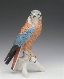 ",FALCON. HAND PAINTED 9"" TALL"