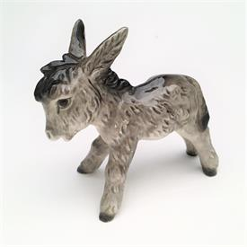 ",#32012 NATIVITY DONKEY TMK5 CA. 1972-79. 3.25"" TALL, 4"" LONG"