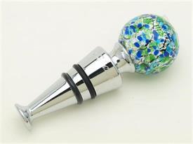 -BLUE/GREEN WINE STOPP