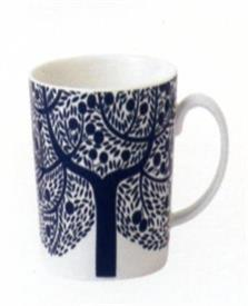 "-9""ACCENT MUG BL.TREE"