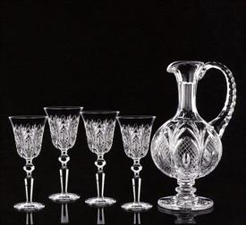 -GEORGIAN JUG/4GLASSES