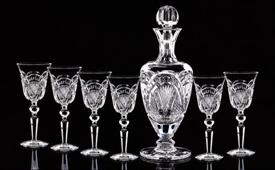 -CLARET SET 6 GLASSES