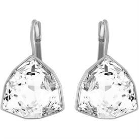 _5076765 Brief clear crystal hanging earrings