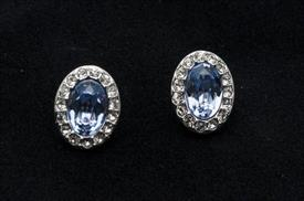 _5118896 CHRISTIE OVAL BLUE/CRYSTAL