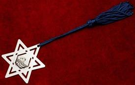 -STAR OF DAVID BKMARK