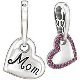 ,_HANGING HEART PINK MOM  WAS $55