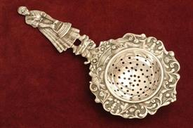 "TEA STRAINER 2.60 TROY OUNCES 6.75"" LONG"