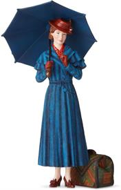 """_,DISNEY SHOWCASE 'MARY POPPIN RETURNS' FIGURINE. 9.84"""" TALL. HAND PAINTED HIGH-QUALITY STONE RESIN."""