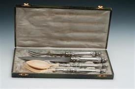 "CARVING SET AND SALAD SET 13"" LONG"