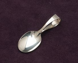"BENT HANDLE BABY SPOON REED & BARTON STERLING SILVER 3.25"" LONG"